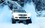 Volkswagen's ''Snowareg'' is the ultimate winter vehicle!