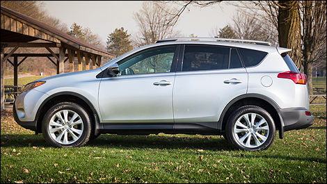 2013 Toyota RAV4 side view