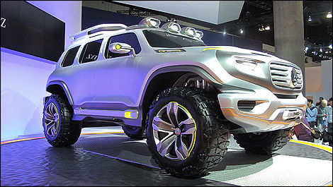 Mercedes Ener G Force Concept