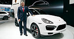 World premiere of 2014 Porsche Cayenne Turbo S in Detroit