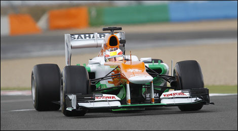 F1 Jules Bianchi Sahara Force India VJM05