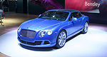 Bentley Continental GT Speed Convertible drops top in Detroit