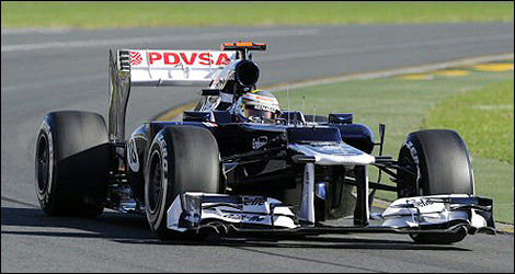 F1 Williams Pastor Maldonado FW34