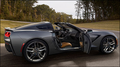 2014 Corvette Stingray side view