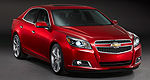 Loose suspension bolts lead to recall on 2013 Chevrolet Malibu