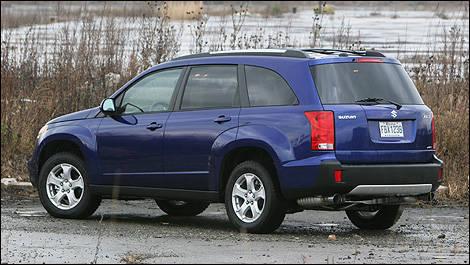 2007 Suzuki Xl7 Rear Side View