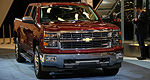GM presents 2014 Chevrolet Silverado in Montreal