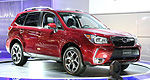 2014 Subaru Forester at the Montreal Auto Show (video)