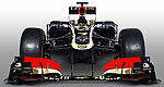F1: Photos studios de la Lotus E21 de Formule 1 (+photos)