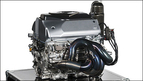F1 Renault engine V8