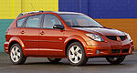 Recall on 2003-2004 Pontiac Vibe