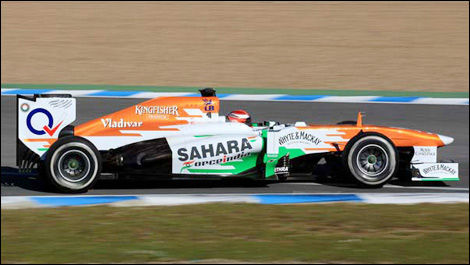 James Rossiter, Force India VJM06 (Photo: WRi2)