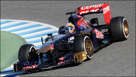 Jean-Éric Vergne, Toro Rosso STR8 (Photo: WRi2)