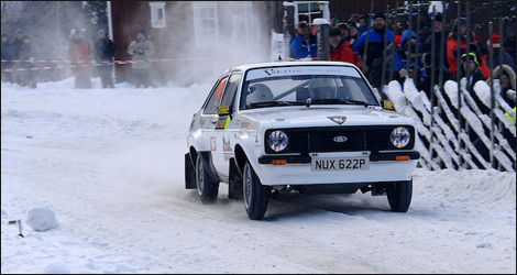 Petter Solberg, Ford Escort MkII