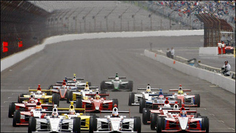 Indy Light start