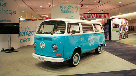 Old school Volkswagen Bus