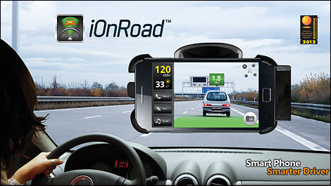l'application mobile iOnRoad