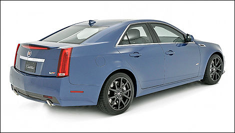 Cadillac CTS, Stealth Blue Edition