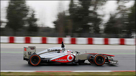 Jenson Button, McLaren MP4-28 (Photo: WRi2)