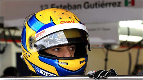 Esteban Gutierrez (Photo: WRi2)