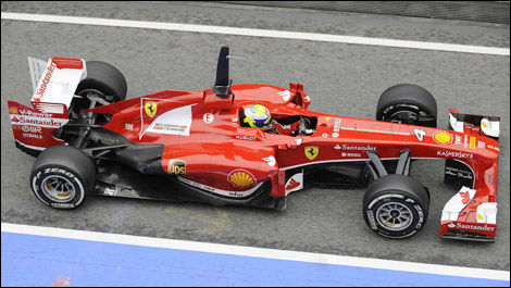 Felipe Massa, Ferrari F138 (Photo: WRi2)