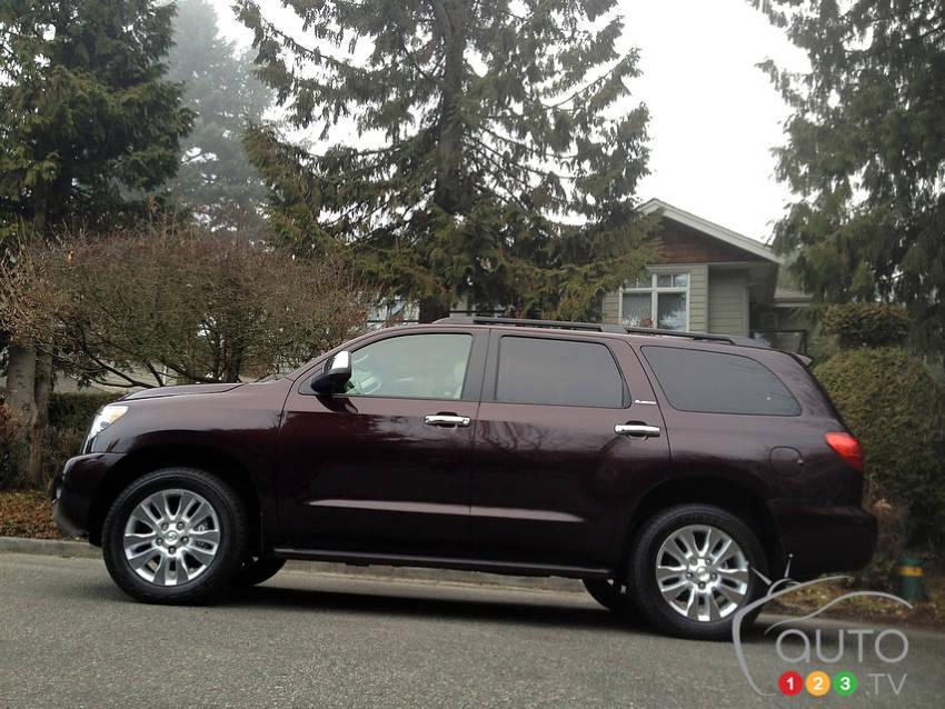 Toyota Sequoia Platinum 5 7l 2013 Actualit 233 S Automobile
