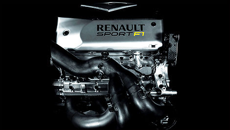 Renault V6 turbo 2014 F1