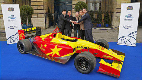Formule E FIA China Racing