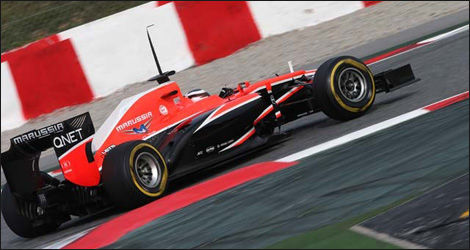 Jules Bianchi, Marussia MR02 (Photo: WRi2)