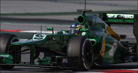 Giedo van der Garde, Caterham CT03 (Photo: WRi2)