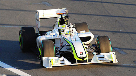 F1 Jenson Button Brawn GP 2009