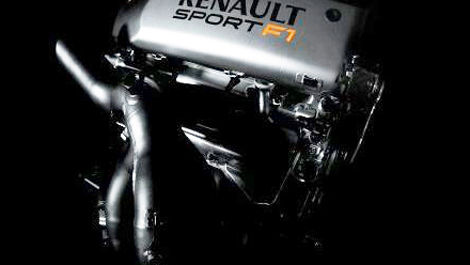 F1 Renault V8 engine