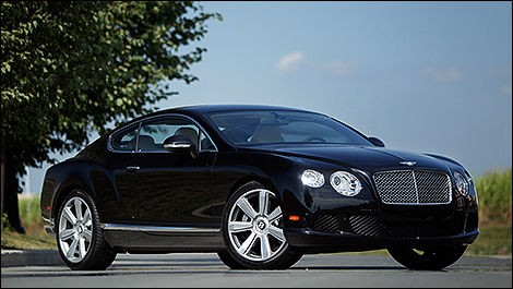 Bentley Continental GT 2012 vue 3/4 avant