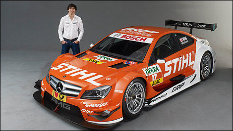 DTM Robert Wickens Mercedes STIHL