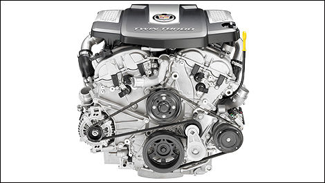 Cadillac announces 420-hp twin-turbo V6 engine