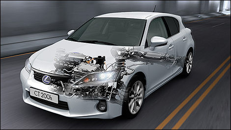 2013 Lexus CT200h 3/4 View