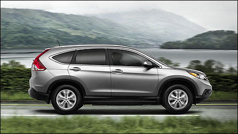 2013 Honda CR-V side view