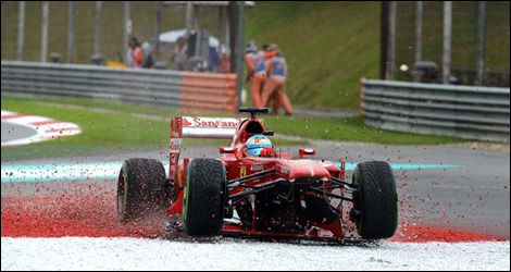 Fernando Alonso, Ferrari F138 (Photo: WRi2)