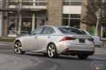 Lexus proc�de au lancement de sa berline sport IS 2014