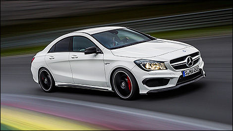 2014 Mercedes Benz CLA45 AMG Side View