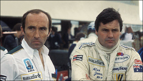 F1 Sir Frank Williams Alan Jones