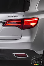 Acura MDX officially dresses for 2014 in New York