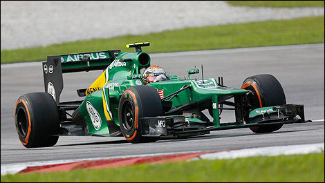 Caterham F1 CT03