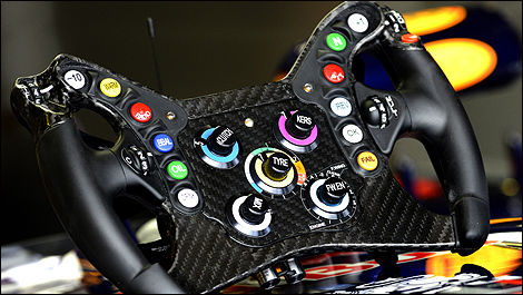 F1 Red Bull RB9 Steering wheel