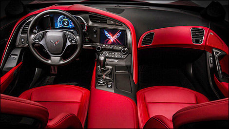 Chevrolet Corvette Stingray 2014 habitacle
