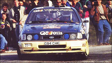 Francois Delecour Ford Anne-Chantal Pauwels