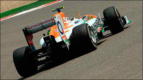 F1 Sahara Force India VJM06 Adrian Sutil