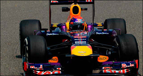 Sebastian Vettel, Red Bull RB9 (Photo: WRi2)