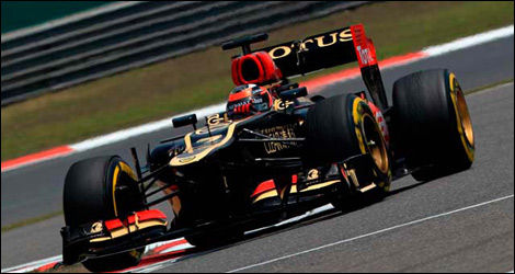Kimi Räikkönen, Lotus E21 (Photo: WRi2)