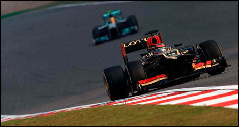 Kimi Raikkonen, Lotus E21 (Photo: WRi2)